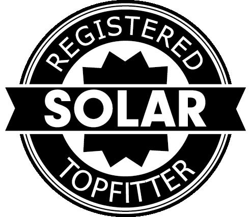 Reda Solar is geregistreerd solar topfitter