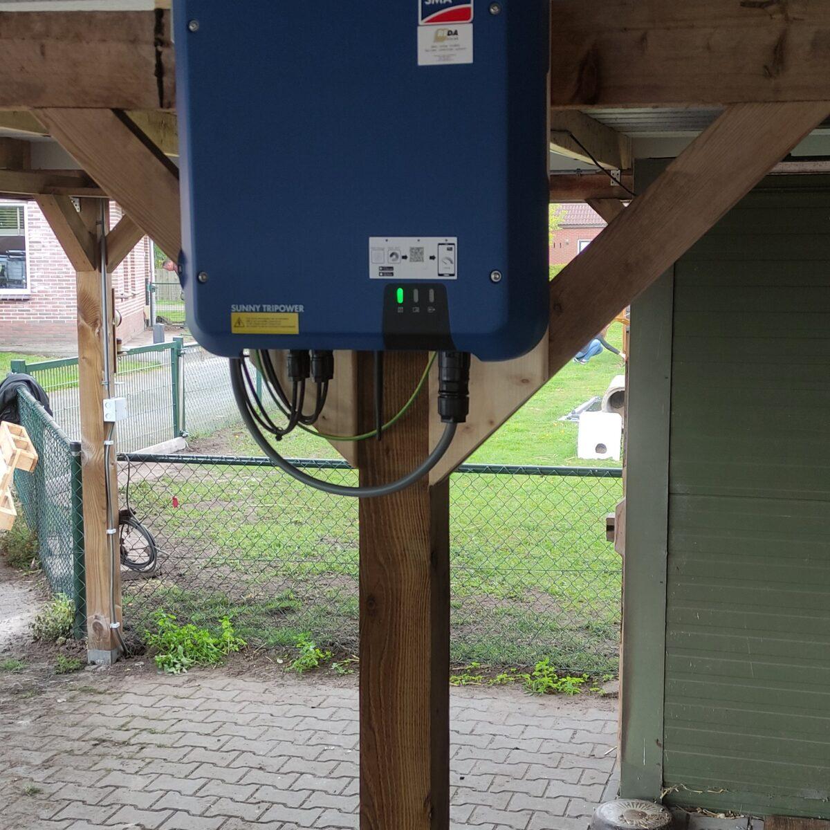 SMA Tripower 3 fasen omvormer Tiendeveen Drenthe